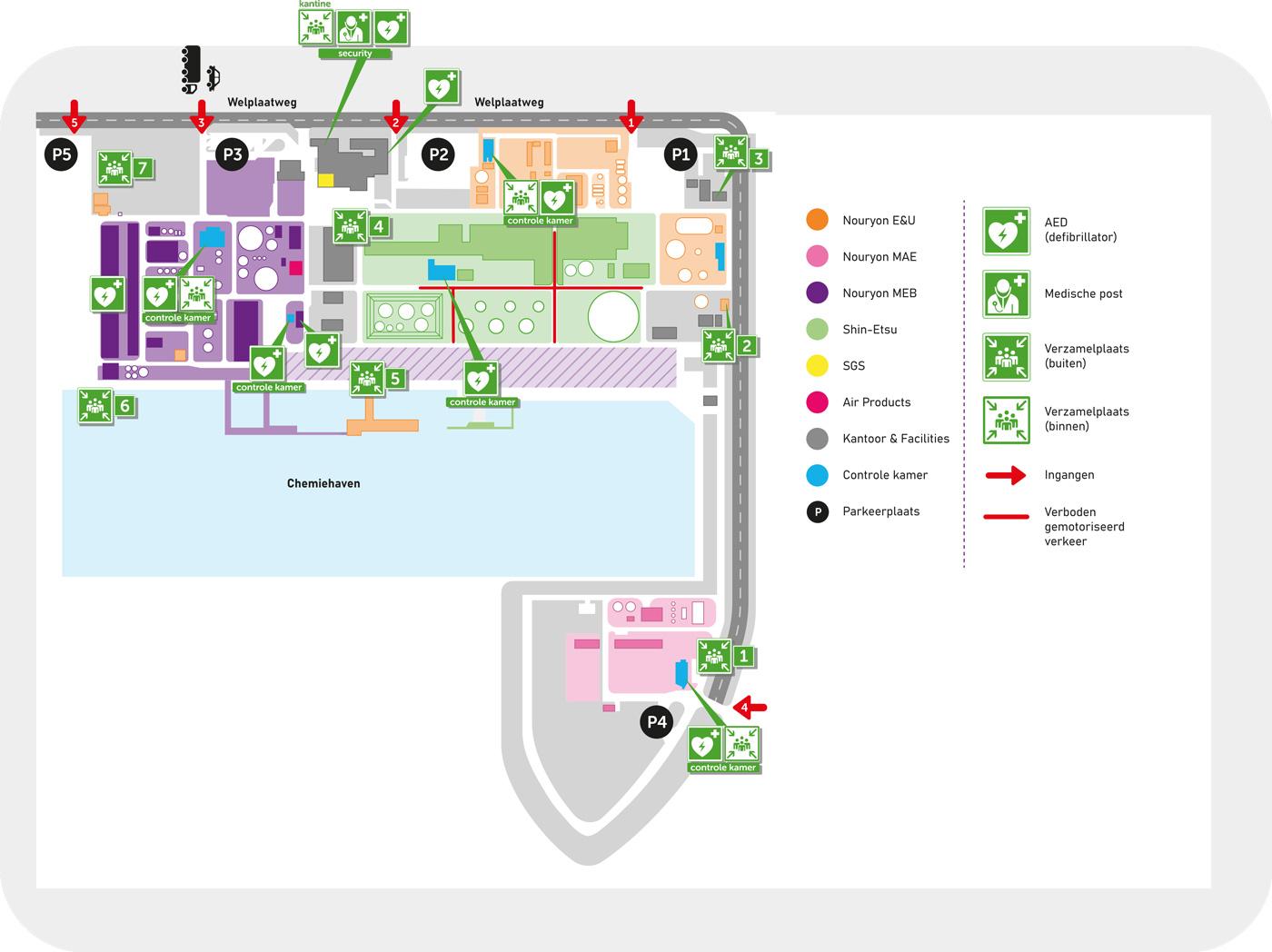 Map Botlek